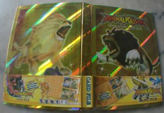 Animal Kaiser 91 Cards Gold Album Folder