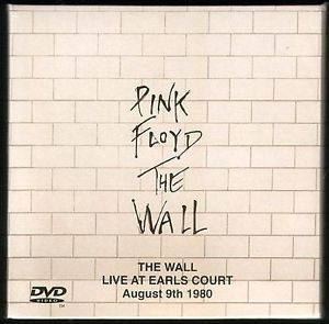 Pink Floyd The Wall Live at Earls Court 1980 2CD DVD Set in Special Card Sleeve