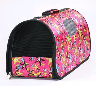 Folding Fabric Canvas Soft Pet Dog Cat Travel Carrier Tote Backpack Bag BT06
