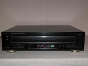 Teac PD D2610 5 Disc CD Player Changer Black Pro Cleaned Tested 2610 CDRW Mint 004377402207