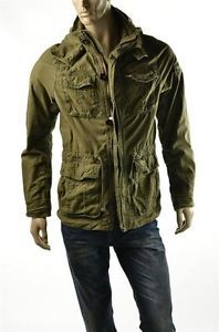 Abercrombie Fitch A F Coats Sentinel Military Style Jacket Coat Sz M Medium New