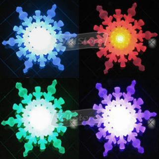 7 Colors Changing Holiday LED Snowflake Light
