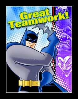 Batman Brave Bold 8 Invitations and 8 Thank You Cards Birthday Party Supplies