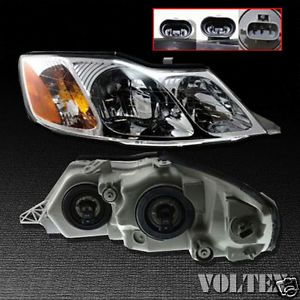 2000 2004 Toyota Avalon Headlight Lamp Clear Lens Halogen Passenger Right Side
