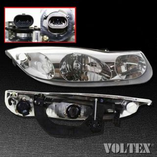 2001 2002 Saturn SC1 SC2 Headlight Lamp Clear Lens Halogen Passenger Right Side