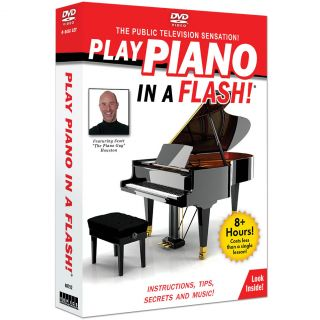 New Play Piano in A Flash DVD Set Learn to Play Tips Instructions and Secrets