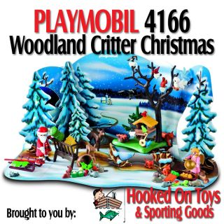 Playmobil 4166 Woodland Critter Christmas Advent Calendar