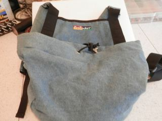 Puppy Dog Carrier Papoose Denim by Pet Pocket Small Dog