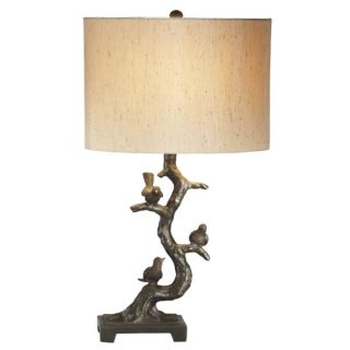 CBK Pair of Birds in Tree Table Lamps 821206