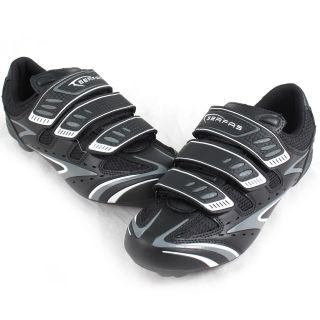 Serfas Interval Women's Road Cycling Shoes Black Silver