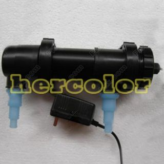Aquarium Pond Tank Fish Tank Sterilizer UV Lamp Light Clarifier 220 240V 18W