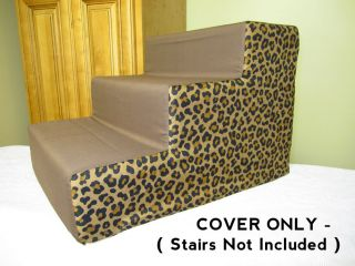 Decorative Cover for Doggy Steps Dog Cat Pet Stairs Seen on TV 3 Steps