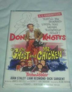 Classic Comedy The Ghost and Mr Chicken Poster 2x3 Fridge Magnet