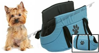 Pet Carrier Bag Dog Cat Soft Carry Zip Transport Travel Cage Washable Designer