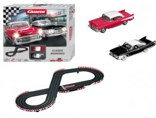 Carrera Classic Memories Chevy Bel Air Slot Car Set 1 32 25158 SCX Scalextric