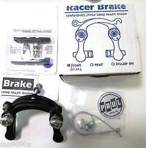 Paul Components Racer Brake Caliper Front Black Centerpull Style Long Reach