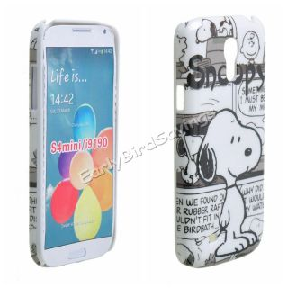 Cartoon Snoopy Cute Pet Dog PC Hard Case Cover for Samsung Galaxy S4 Mini I9190