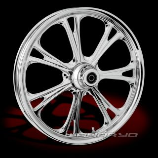 Chrome Wheel for Harley FL Street Glide Road King Ultra