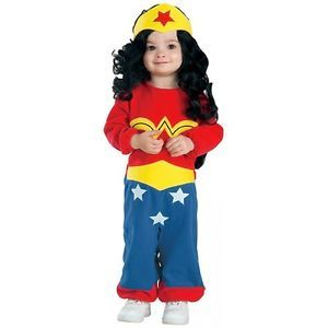 Wonder Woman Costume Baby Toddler Superhero Halloween Fancy Dress