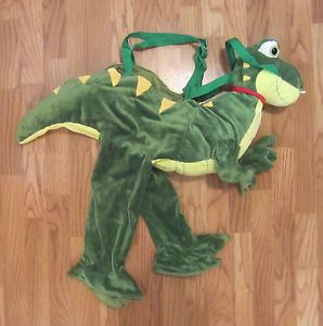 T Rex Dinosaur Dino Boy Plush Toddler Halloween Costume Size 2T 3T Mario Bowser