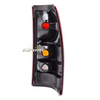2000 2002 Chevy Silverado Left Tail Light GM2800173 Lens Housing 1500 Fleetside