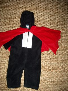 Baby Infant Boy Old Navy Dracula Vampire Halloween Costume Cape 12 18mo