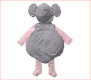 Carter's Baby Girls 3 PC Halloween Mouse Costume 3 6 Months Pink Gray 3D Ears