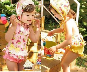 Girls Baby 2 6 Cherry Tankini Bikini Swimsuit Swimwear Kids Swimming Costume