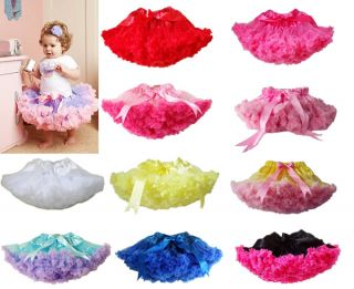 1pc Baby Girl Kid Infant Toddler Pettiskirt Tutu Skirt Dress Party Dance Clothes
