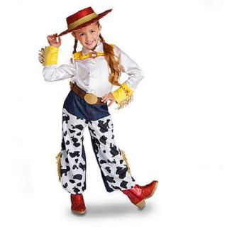 New  Jessie Toy Story Costume Shirt Pants Hat Halloween