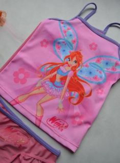 Girls Disney Princess 2 10Y Swimsuit Swimwear Swimming Costume Tankini Bikini