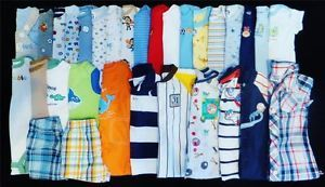 Baby Boy 3 6 Months Spring Summer Outfits Clothes Shoes Lot