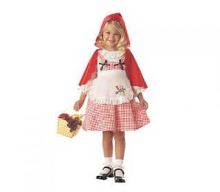 New Little Red Riding Hood Halloween Toddler Costume