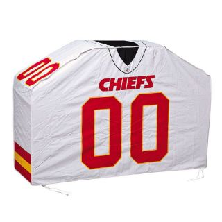 "60"" NFL Kansas City Chiefs Football Jersey Style Sports Grill Cover"