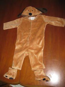 New Pottery Barn Kids Pbk Baby Puppy Dog Costume Outfit