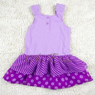 Girl Princess Minnie Mouse Fairy Summer Top Dress Tutu Party Costume Skirt 2 5Y