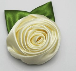 Hot Lady Women's Costume Jewellery Wedding Flower Brooches Pins Cloth Rose Free