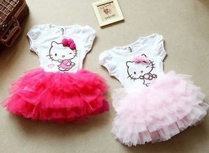 New Baby Girls Tutu Dresses Kids Beauty Christmas Skirts Clothes Toddlers sz2 8T