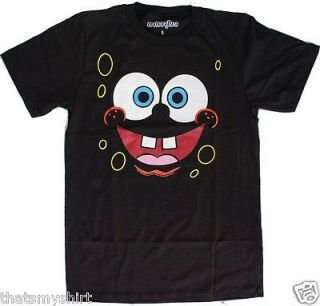 New Authentic Mighty Fine Spongebob Squarepants at Night Mens T Shirt