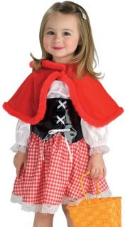 Girls Little Red Riding Hood Kids Halloween Costume
