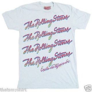 New Authentic Mens The Rolling Stones Exile Repeat Tee Shirt
