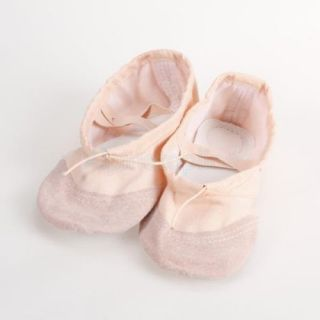 Kids Incarnadine Canvas Ballet Dance Shoes Slippers US Size 11 6 2 3 Inch