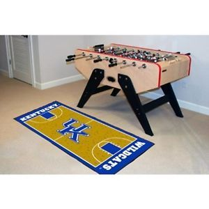 "Kentucky Wildcats Basketball Court Runner Area Rug Floor Mat 30"" x 72"""