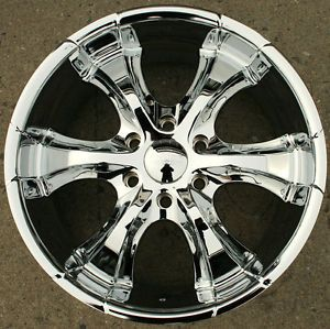 Akuza OJ 437 20 x 8 5 Chrome Rims Wheels Toyota Tacoma Pre Runner 18 6H