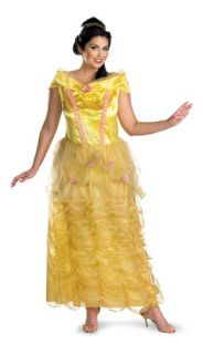 Adult Plus Size Belle Princess Womens Halloween Costume