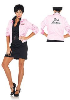 Womens Grease Pink Ladies Jacket Halloween Costume