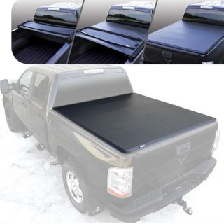 Bully 2007 2012 Chevrolet Silverado Tri Fold Tonneau Cover 6 5' Bed Warranty