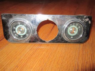 1950 60 Vintage Steward Warner Gauges Rat Rod Custom