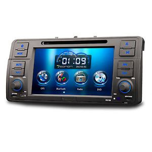 New BMW 3 E46 M3 Car GPS Navigation System DVD Player Radio Stereo Bluetooth Map