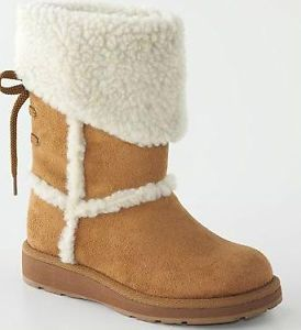 New Girls Tan Sonoma Faux Fur Boots 7 9 11 Toddler Snlilrilet